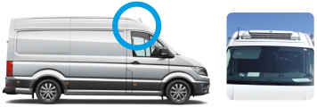 VW CRAFTER VAN photo cuvette
